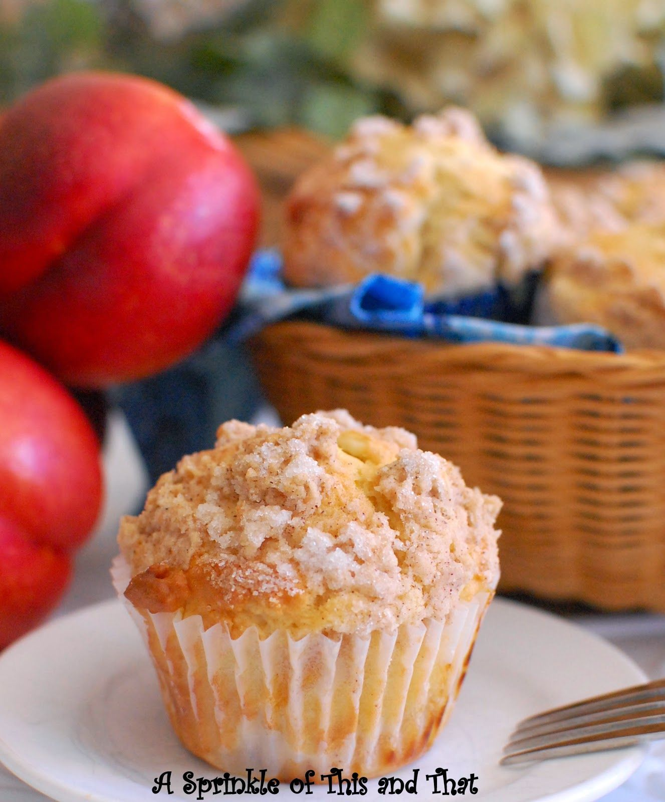 I may live in the Midwest, but I am still a Southern girl...one who loves Southern Living magazine . I came across this recipe for Peach M...