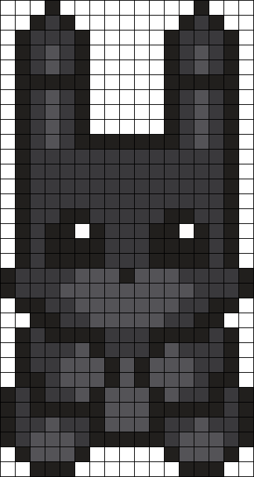 Shadow Bonnie Perler Bead Pattern Bead Sprite Patterns