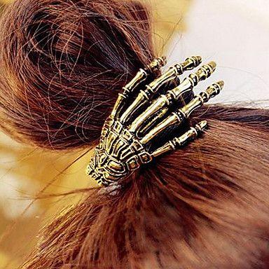 Bone Hand retro del pelo del lazo – MXN $ 47.84