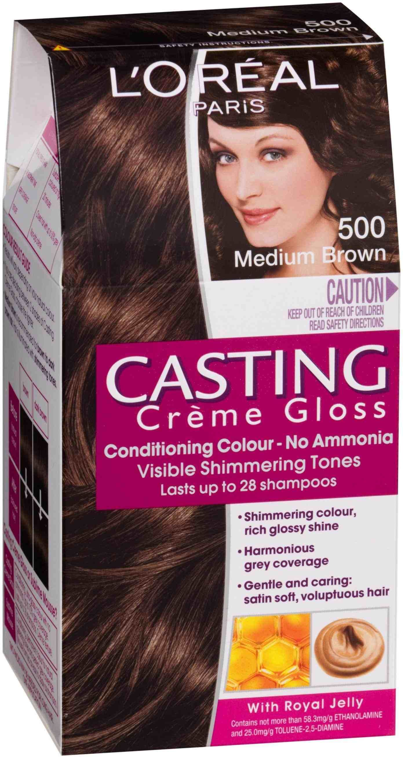Loreal Chocolate Brown Chart Color Hair