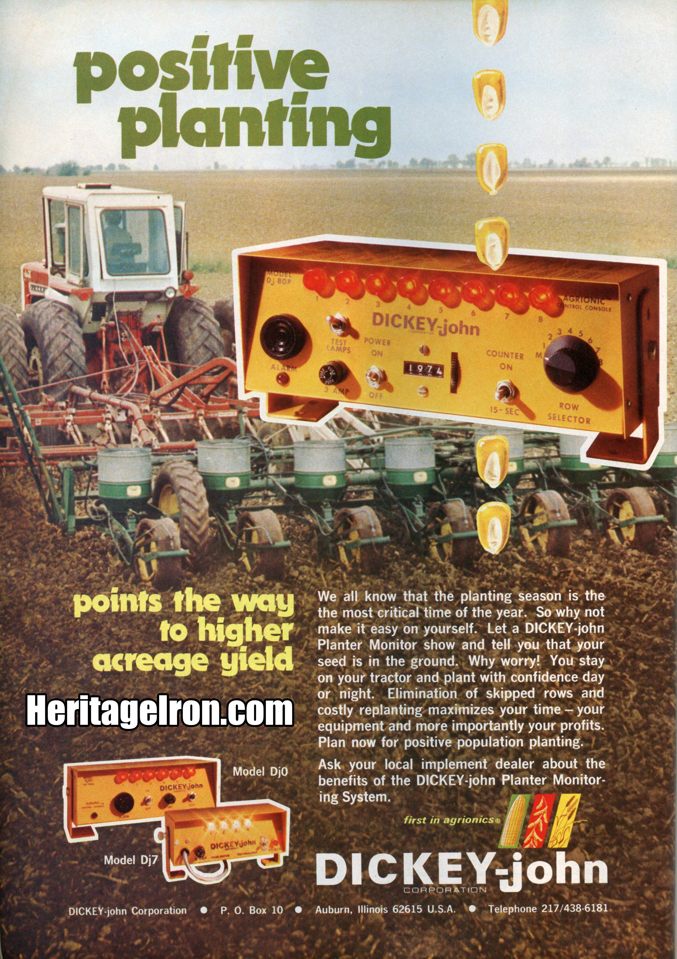 This week's Vintage Ad is brought to you by Successful Farming magazine from the March 1975 Planting Issue. #HeritageIron #MuscleTractor