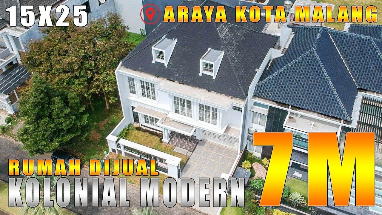 Araya Kota Malang Rumah Baru Mewah Bergaya Kolonial Modern Dijual Revi Malang Kota Malang Modern