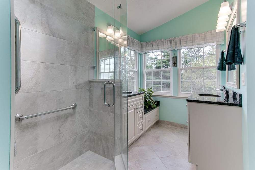 Traditional Bathroom Remodel Frederick MD | Traditional ...