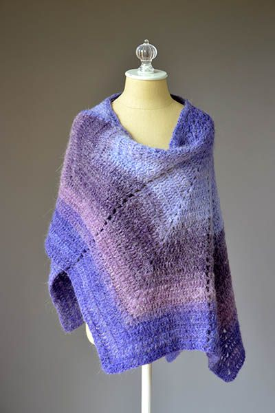 Allium Shawl Pattern | Pinterest