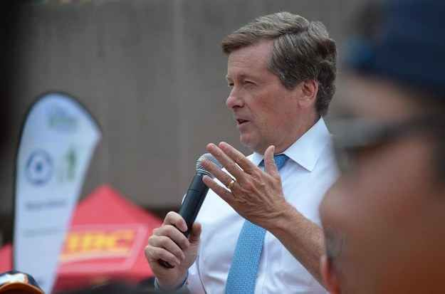 Toronto Mayor John Tory is getting personally involved in the plight of refugees fleeing the civil war in Syria by sponsoring a family's resettlement to Canada.