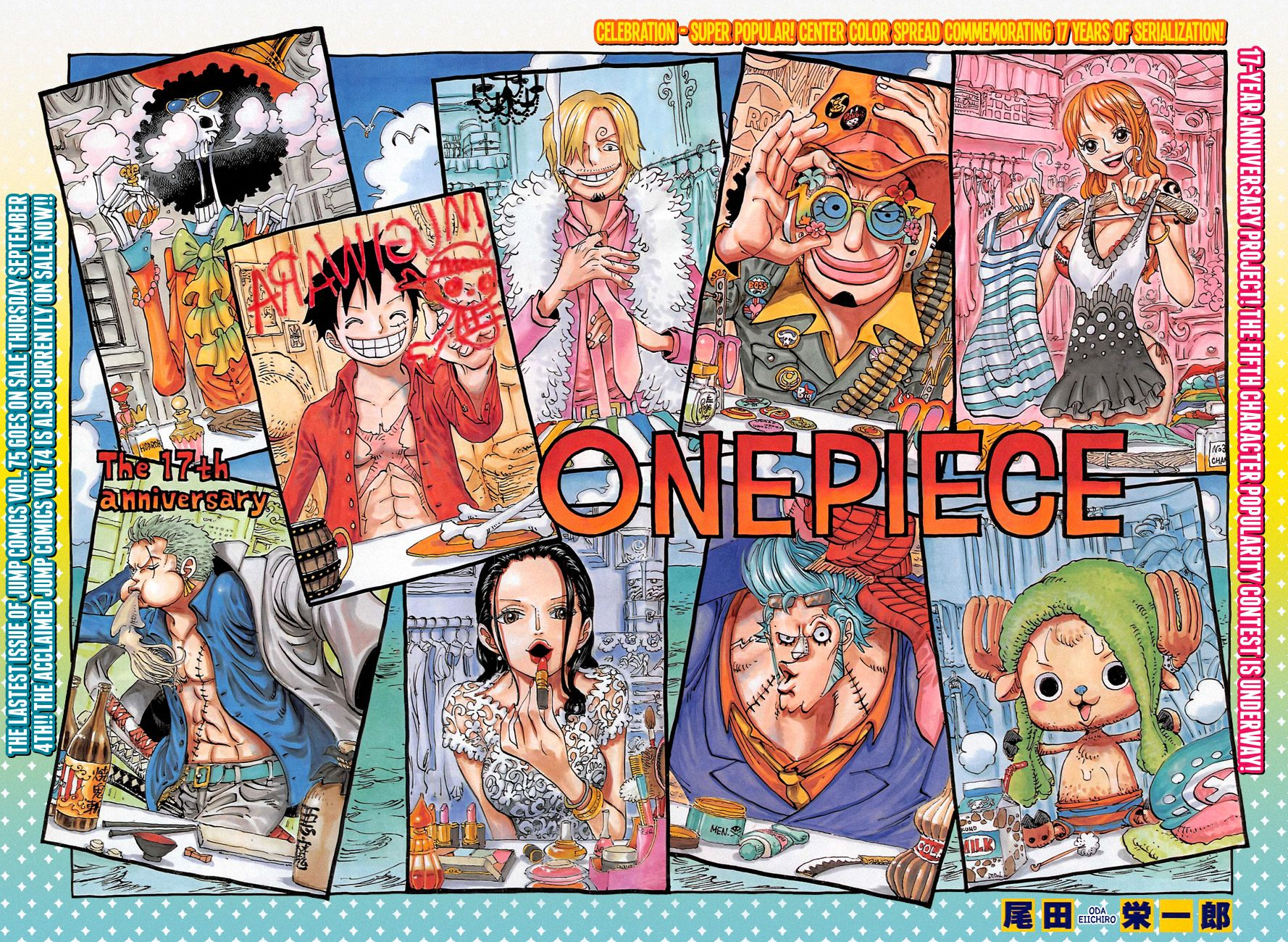 Capítulo 756 Mangá one piece, One piece e One piece anime