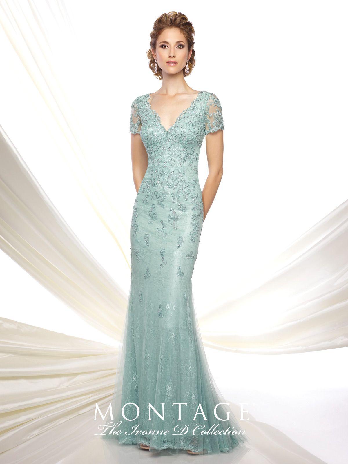 Ivonne D - Evening Dresses - 116D32   Trumpets, Illusions and Neckline