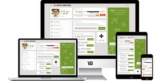 Insurance Solutions By Backbase Solutions Interactive Design
