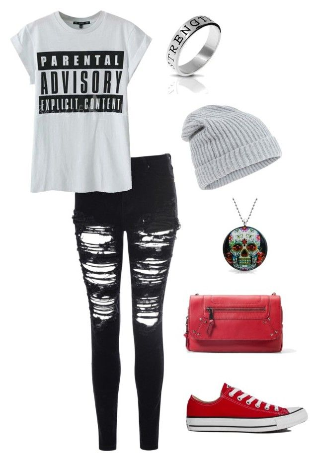 """""""Untitled #26"""" by lovelyxchaos on Polyvore featuring Bling Jewelry, Glamorous, Accessorize, MANGO and Converse"""