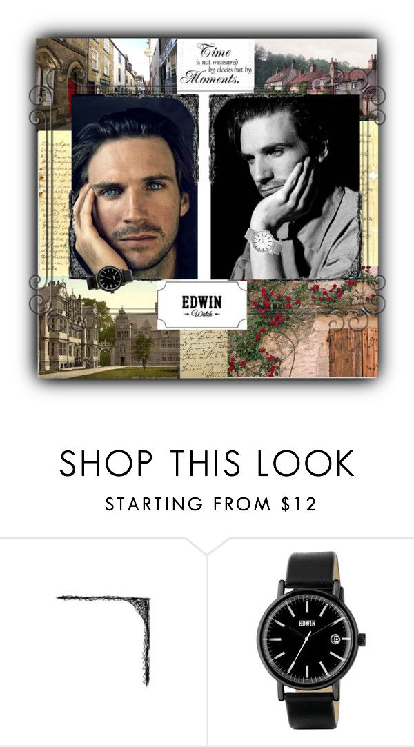 """""Edwin Watch - Our Time Together"""" by natalyapril1976 ❤ liked on Polyvore featuring Whitby and RALPH"