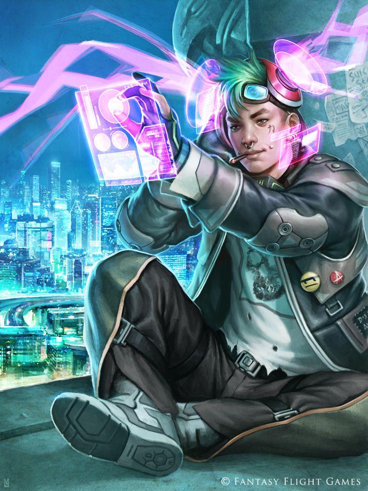 Noise by Matt Zeilinger | Cyberpunk character, Concept art ...