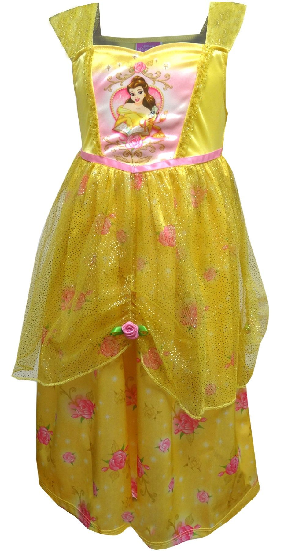 Disney Disney Beauty And The Beast Dress Like Belle Princess Nightgown Walmart Com Beauty And The Beast Dress Princess Nightgowns Disney Beauty And The Beast [ 1800 x 1001 Pixel ]