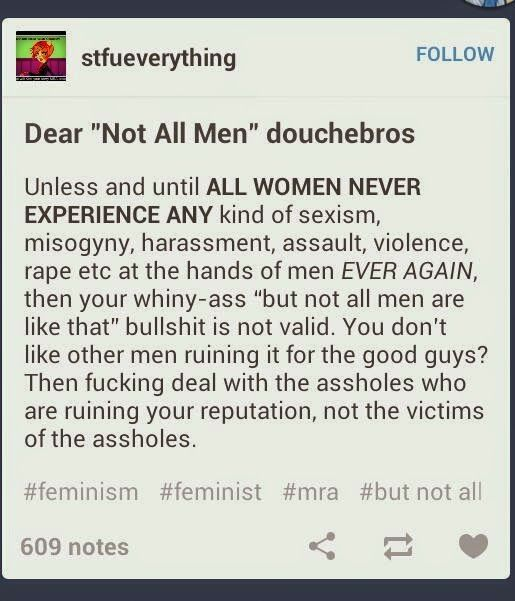Deal with the assholes not the victims