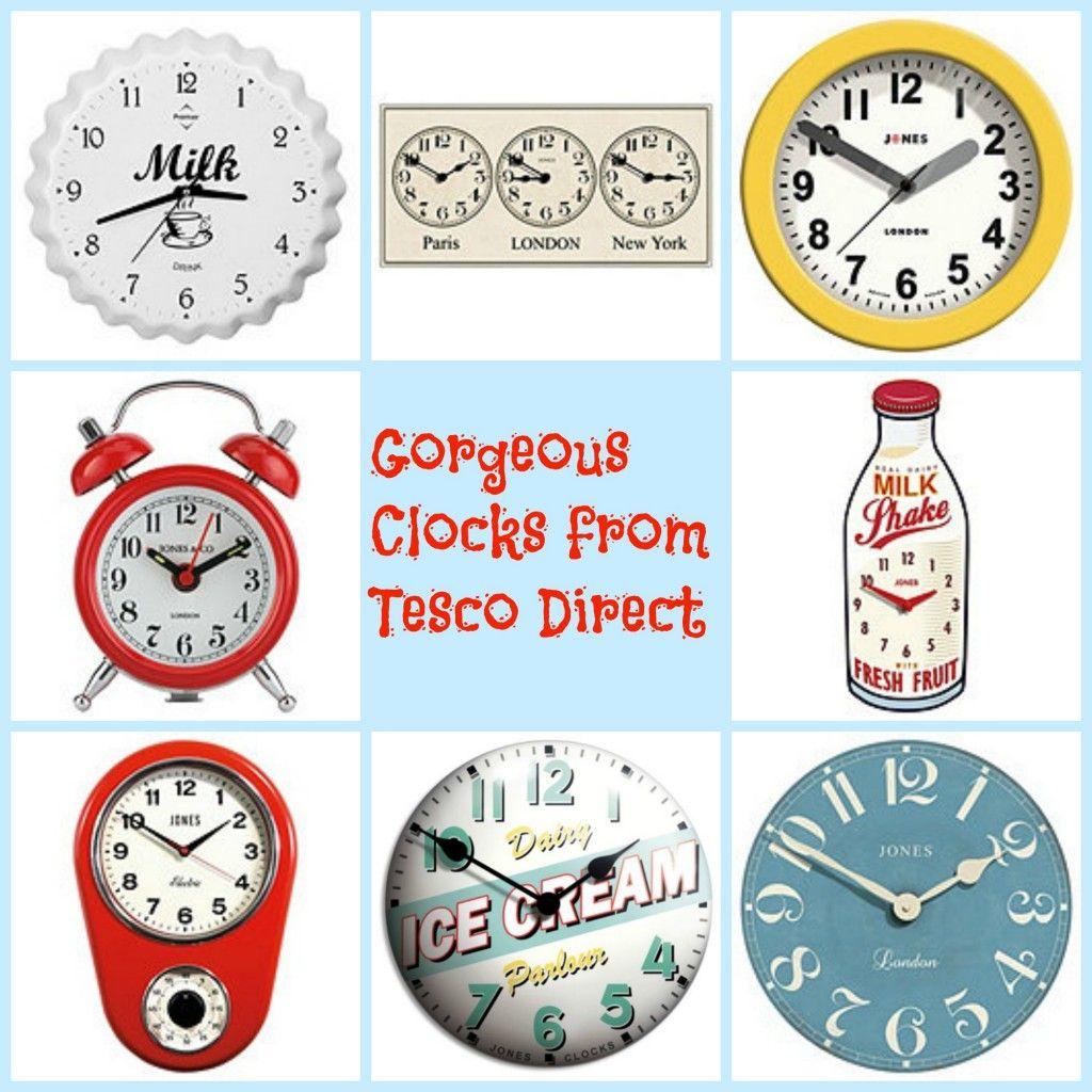 Tesco Clocks Clock Decor