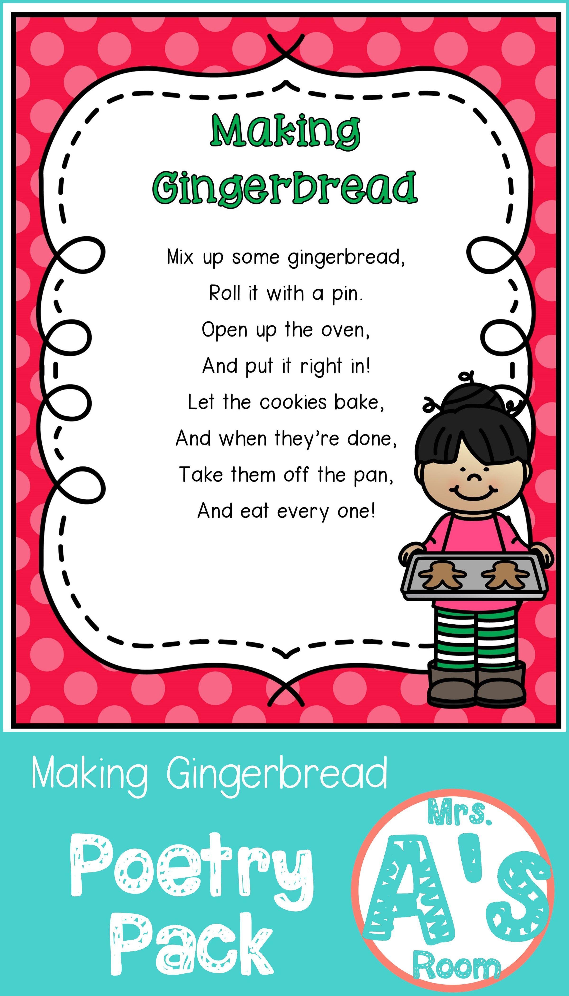 Making Gingerbread Poetry Pack