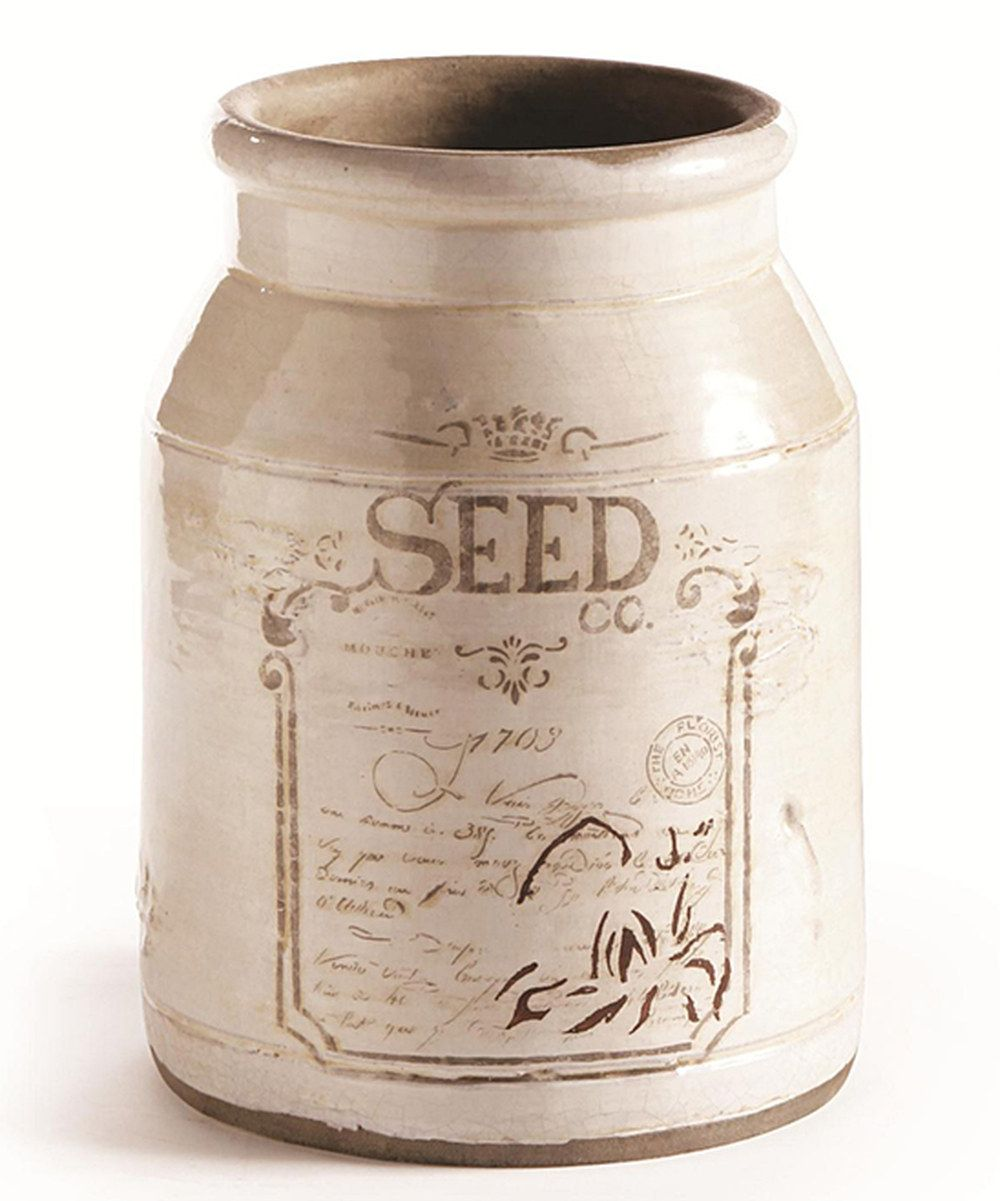 Look at this White 'Seed' Vase on zulily today! Vases