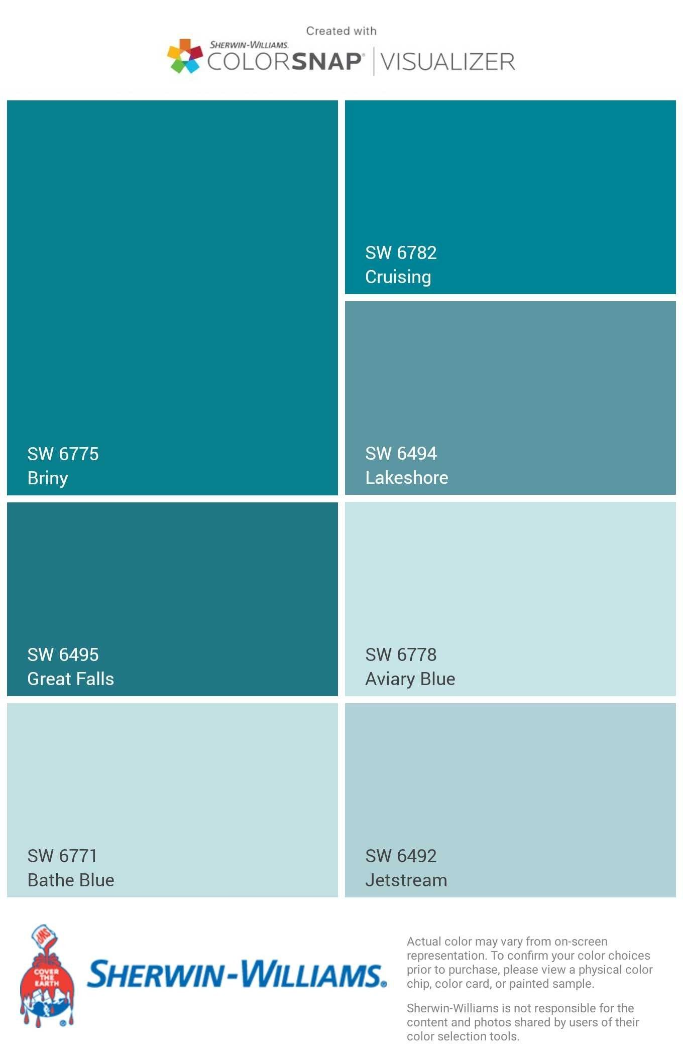 I Just Created This Color Palette With The Sherwin Williams Colorsnap Visualizer App On My Android Phone Wh Paint Colors For Home House Painting House Colors