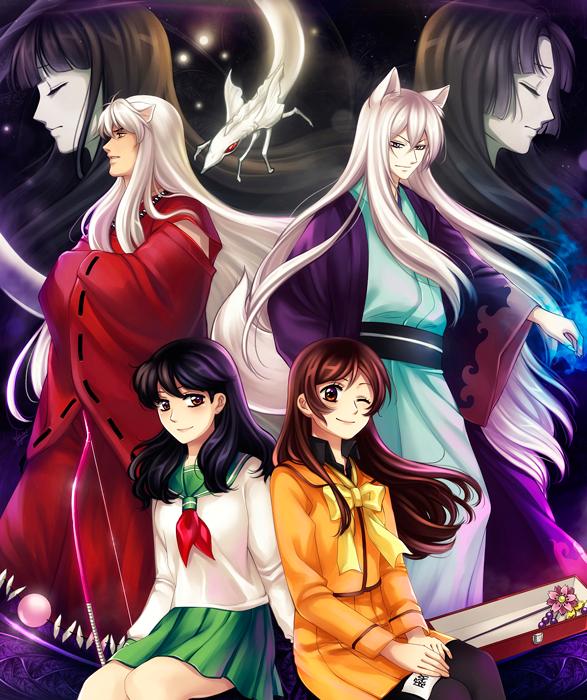 Inuyasha By Animegirl151 On Deviantart: Inuyasha X Kamisama Hajimemashita By Kay-I.deviantart.com