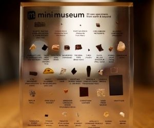 Mini Museum - Pocket-sized Collections of Rare Specimens From Earth And Beyond