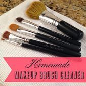 Photo of Check out this easy to make homemade makeup brush cleaner. You probably already