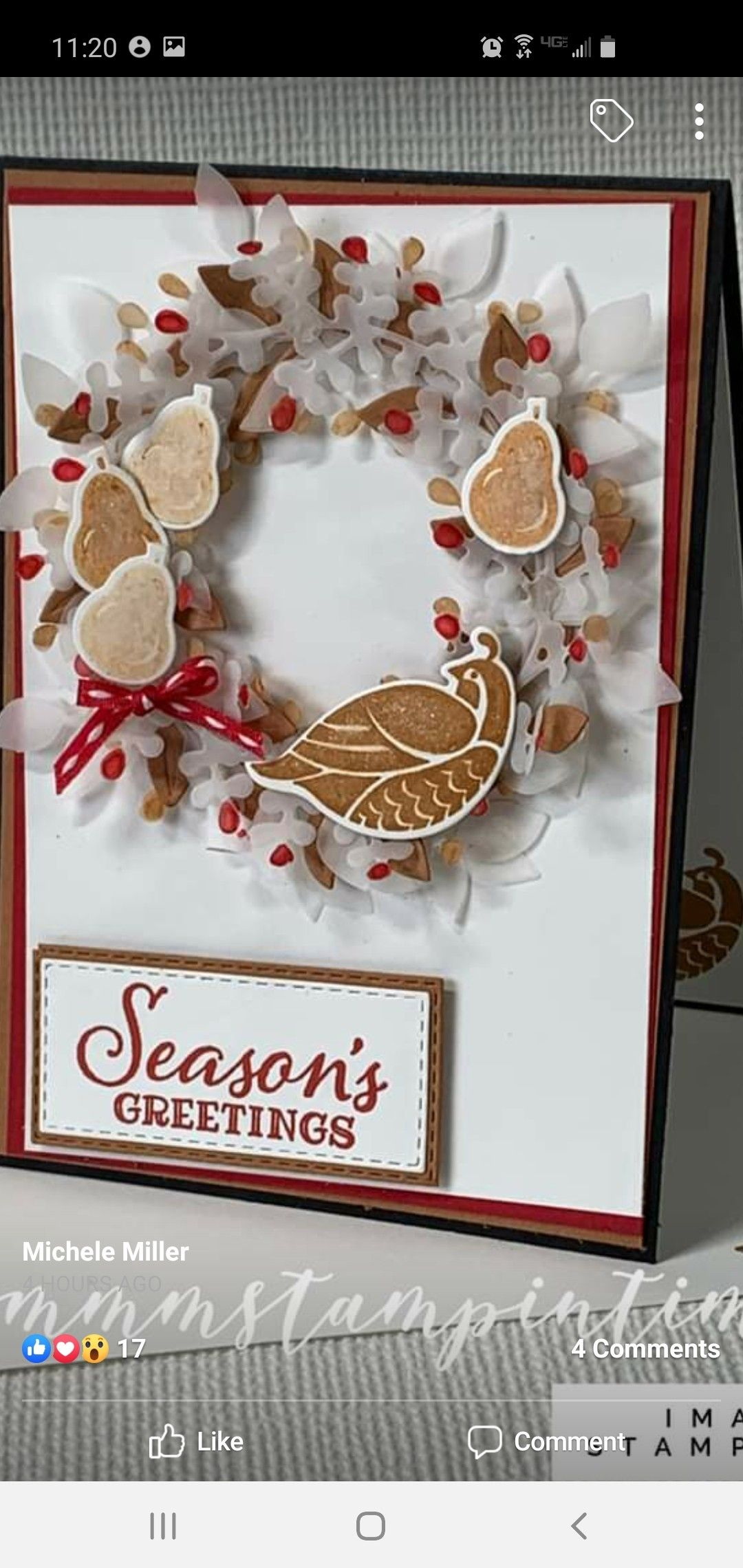 Pin by Cheri on Arrange A Wreath SU in 2020 Xmas cards