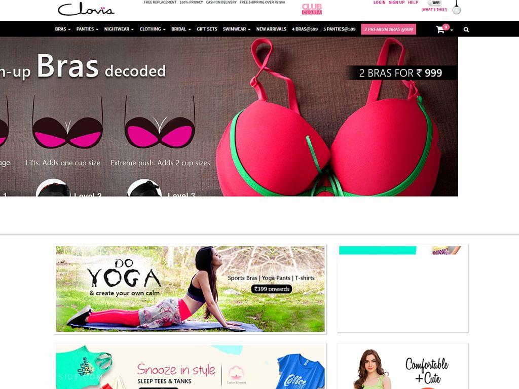 Clovia: Best Website for #Lingerie #OnlineShopping in India ...