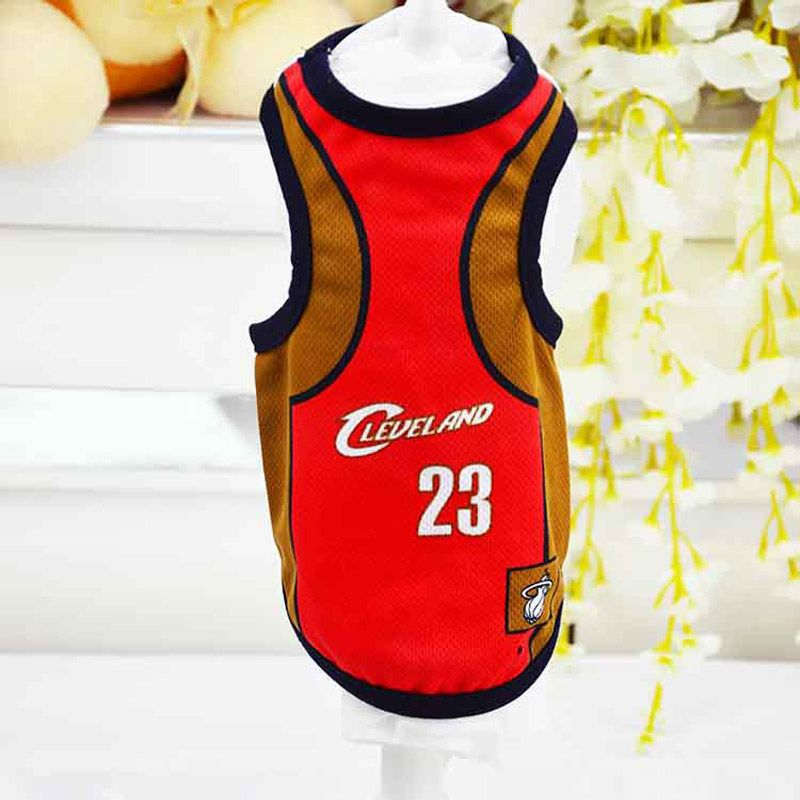 PETUBE Dog NBA Basketball Jersey Dog Clothes Summer Vest Dog Sweatshirt  Jersey Big Small Dogs XS 2f21fa451