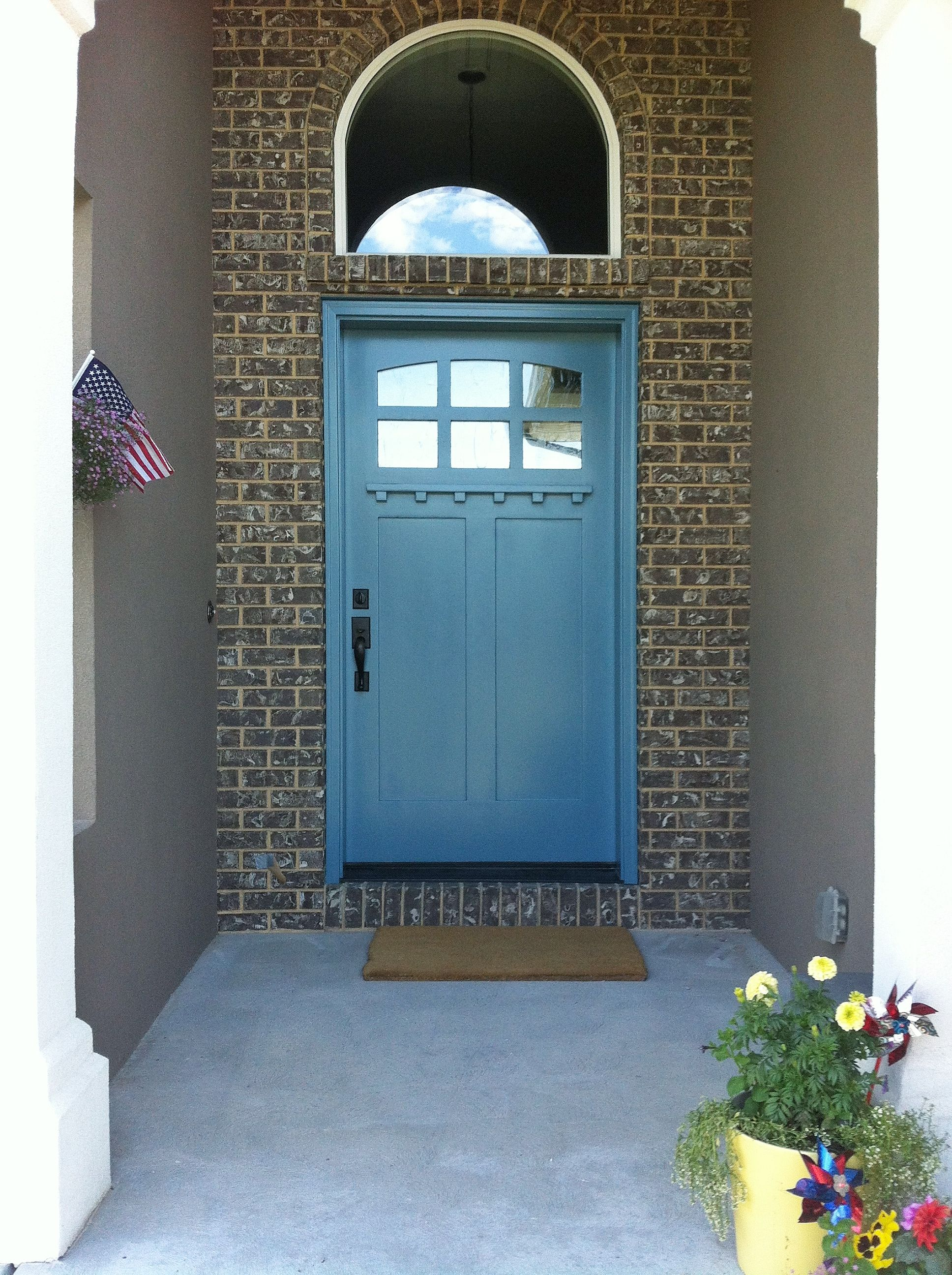 Bright face paint body face paints 1003 blue paint blue color - Love This Color For My Front Door Refuge From Sherwin Williams