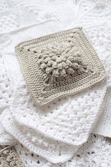 Nice Crochet Granny Square Idea Erdbeerdiamant Crochet Bobble