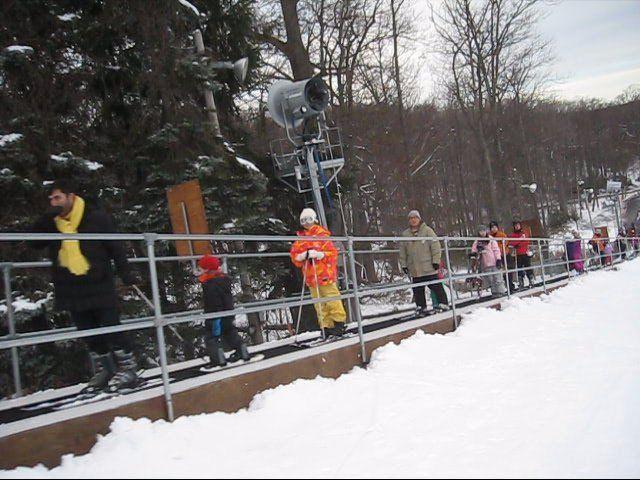 Magic Carpet Ski Lift Longest At Camelback Mountain Pa