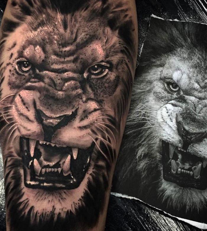 1001 Coole Löwen Tattoo Ideen Zur Inspiration Tatuajes