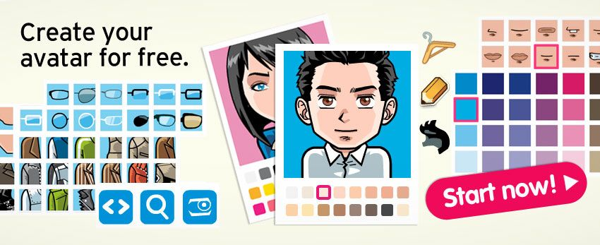 Create an avatar for yourself for the characters in the