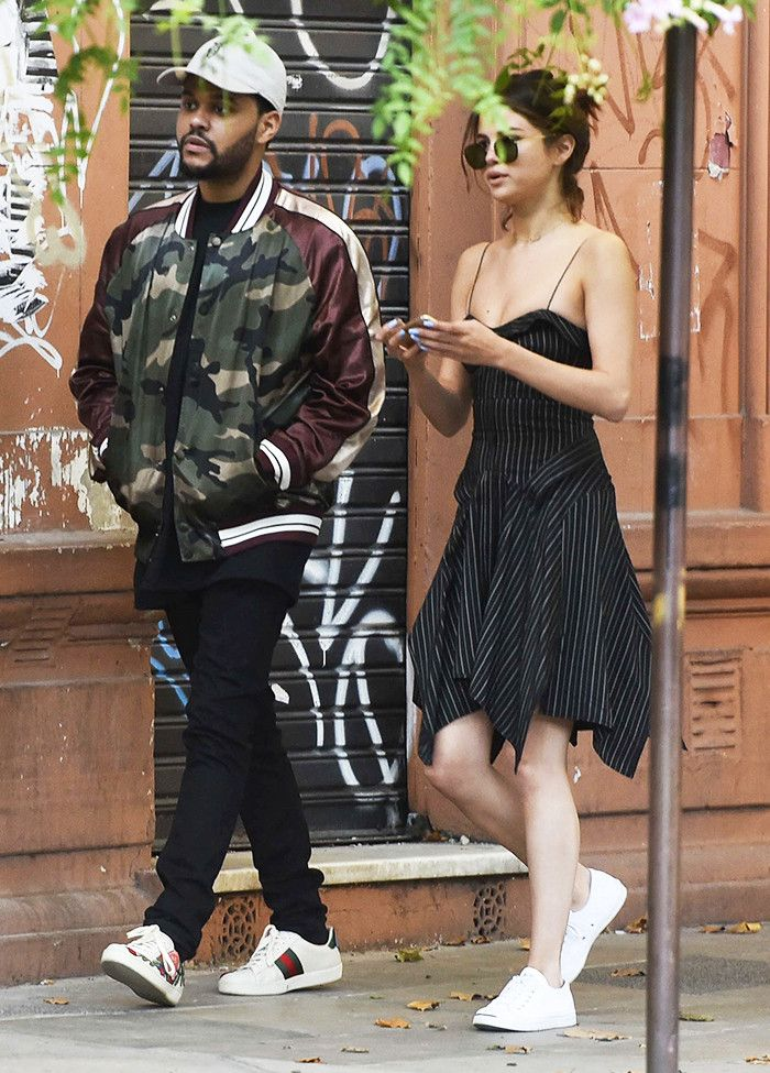 99bc82d4db3 Selena Gomez s Dress-and-Shoe Combo Isn t New