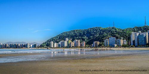Santos - Apesar de amar minha cidade, jamais poderia dizer que suas praias são bonitas.