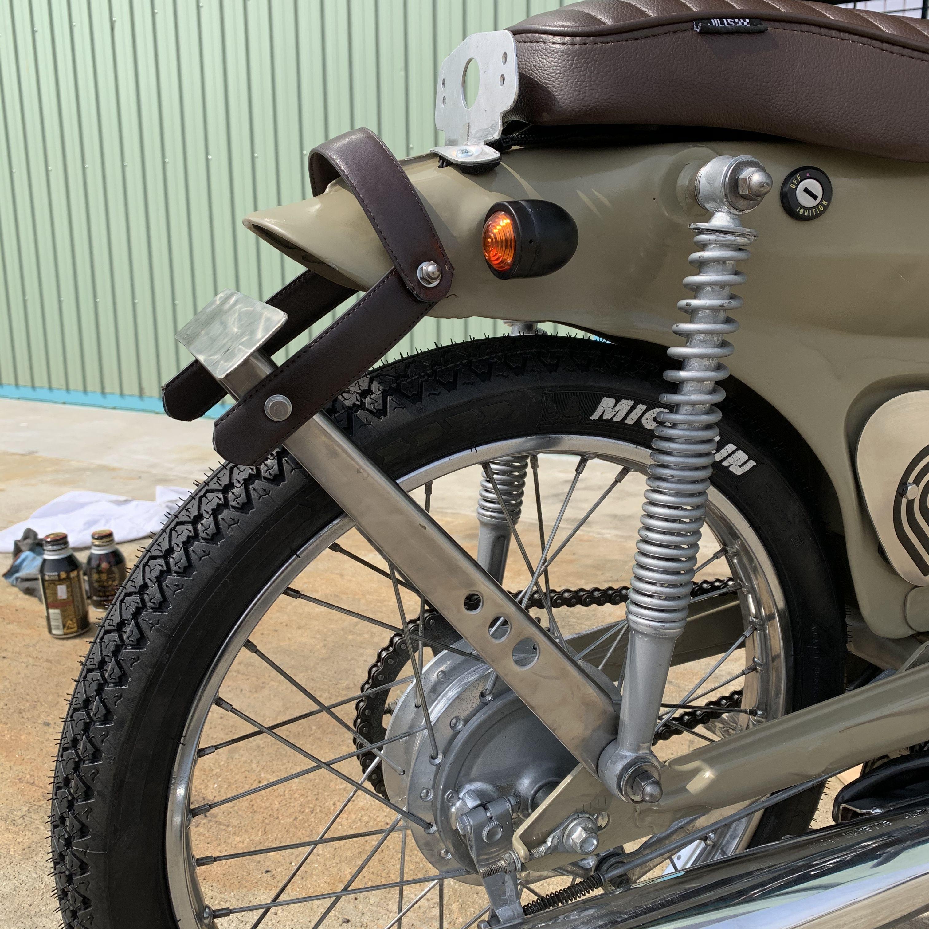ナンバーステー制作 ナンバープレート スーパーカブ カスタム カスタムバイク