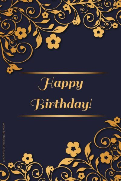 Happy Birthday Wishes For Your Whatsapp Status Happy