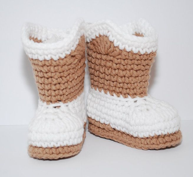 Free Crochet Pattern For Custom Made Cowboy Baby Booties That Will
