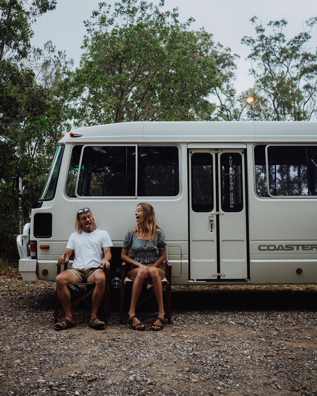 E l i s e on instagram sooo we brought a bus