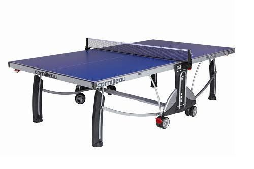 Cornilleau Sport 500m Outdoor Table Tennis Table Color Blue By Cornilleau 1 40 Boasting An Inno Outdoor Table Tennis Table Ping Pong Table Table Tennis Set