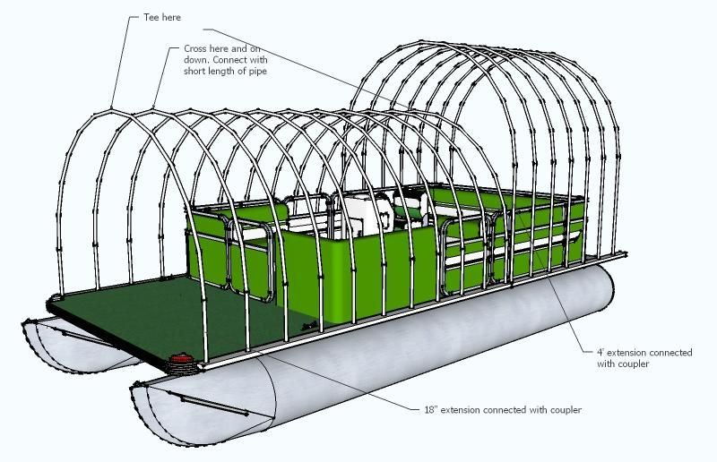 Homemade Pontoon Boat Plans Bing Images Building