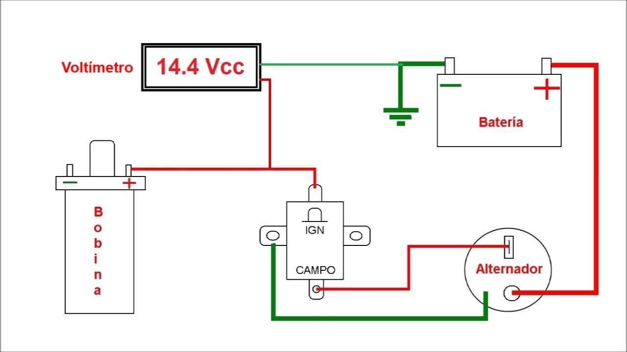 Resultado De Imagen Para Conexion Alternador Toyota Volskwagen Solenoidcar Wiring Diagram