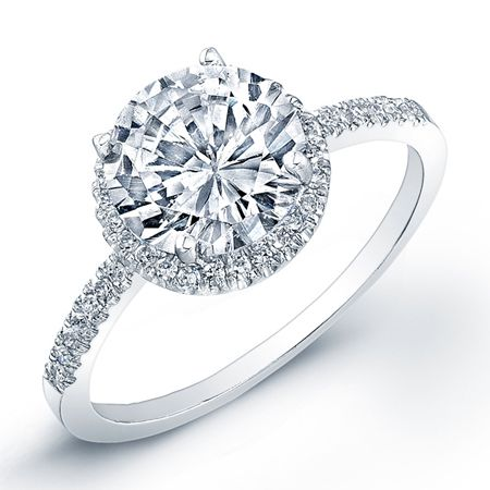 most popular round cut engagement ring choices - Round Wedding Rings