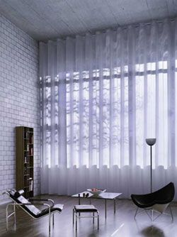 Silent Gliss Wave Xl Track Curtains Voile Curtains Wave Curtains