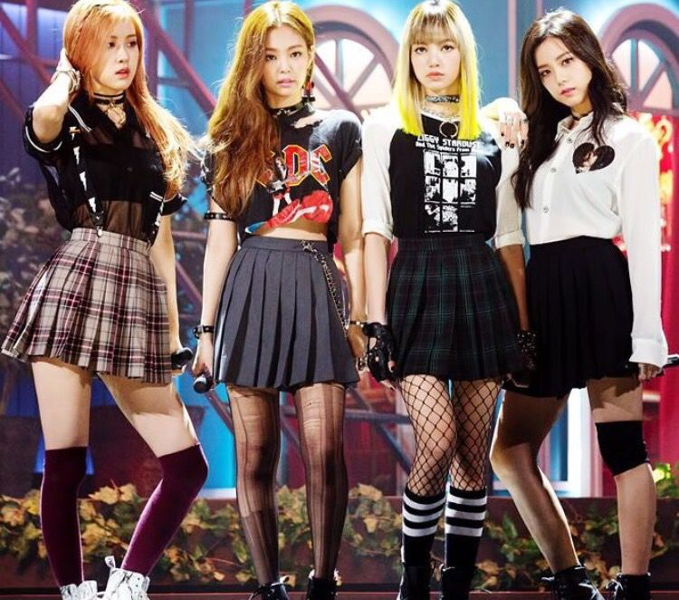 Debut Stage Blackpink Fashion Kpop Fashion Kpop Outfits