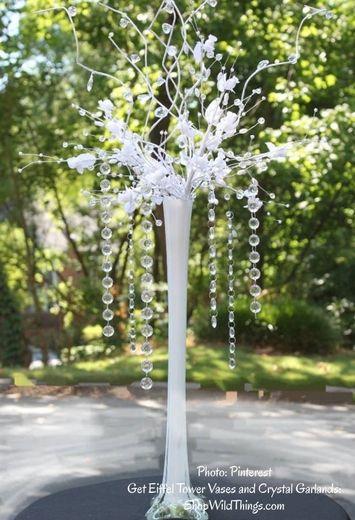Small Eiffel Vase Flower Arrangement Google Search Wedding Ideas
