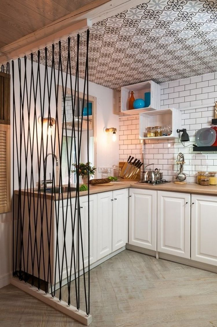 Landhaus Stil einrichten Holzdesign Wohnung #skandinavische #küche #einrichten #ideen #wohntrends #scandinaviankitchen #amenagementmaison