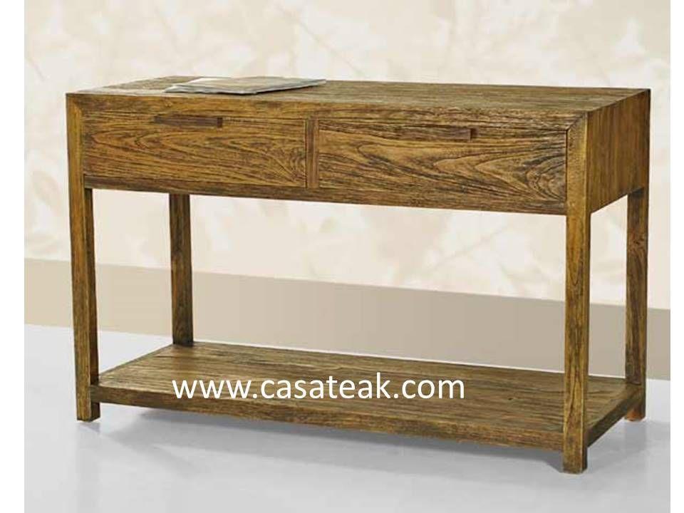 Fabulous Reclaimed Console Table Ca Ct 1007 Home Furniture Shop Inzonedesignstudio Interior Chair Design Inzonedesignstudiocom