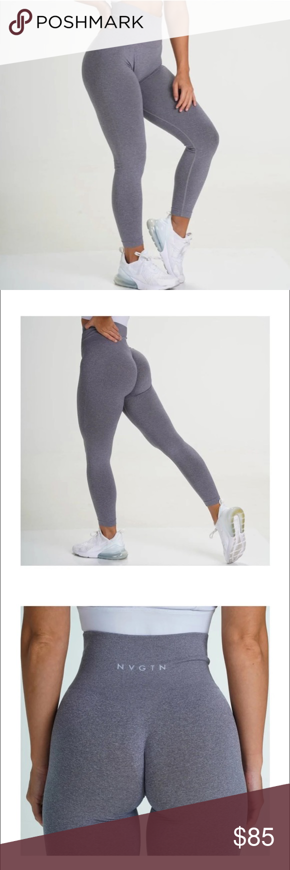 Nvgtn Nv Seamless Legging Not A Fan Of Contouring Not A Problem Our New Nv Seamless Leggings Feature A Leggings Are Not Pants Seamless Leggings Grey Leggings