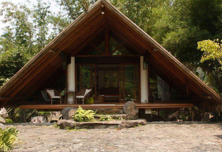 Bahay Kubo Bahay Bakasyunan With Images Bahay Kubo Bamboo House Design Bahay Kubo Design