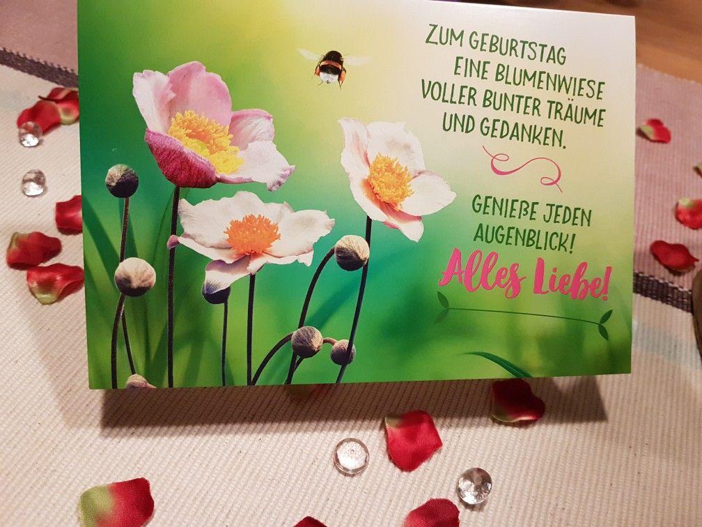 Pin Von Dorte Volk Auf Geburtstag Blumen Wiese Blumenwiese
